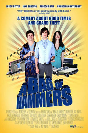 """Poster art for """"A Bag of Hammers."""""""