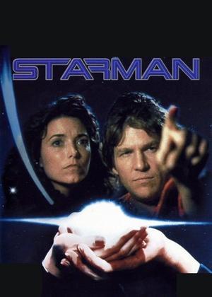 """Poster art for """"Starman."""""""