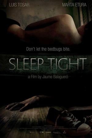 "Poster art for ""Sleep Tight."""