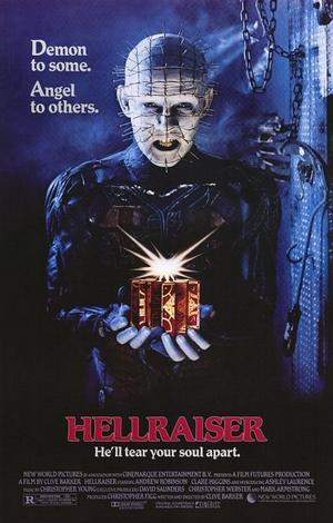 """Poster art for """"Hellraiser."""""""