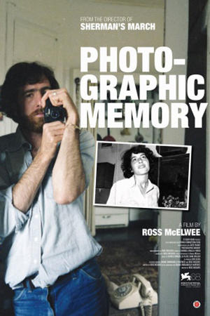 """Poster art for """"Photographic Memory."""""""