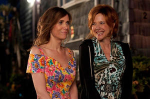 "Kristen Wiig and Annette Bening in ""Girl Most Likely."""