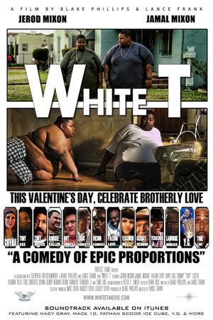 """Poster art for """"White T."""""""