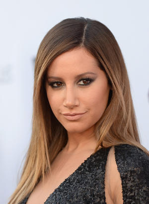 "Ashley Tisdale at the California premiere of ""Scary Movie V."""