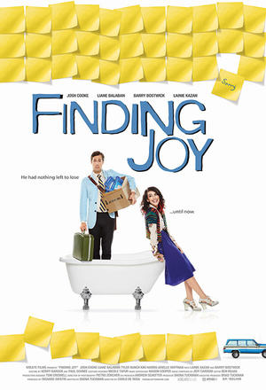 "Poster art for ""Finding Joy."""