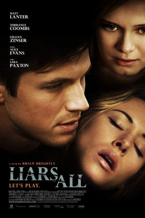 "Poster art for ""Liars All."""
