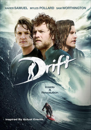 "Poster art for ""Drift."""