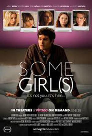 "Poster art for ""Some Girl(s)."""