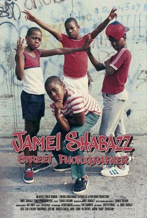 """Poster art for """"Jamel Shabazz Street Photographer."""""""