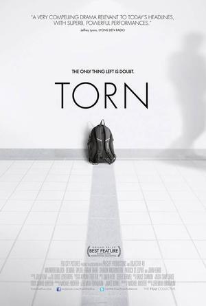 "Poster art for ""Torn."""