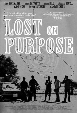 """Poster art for """"Lost on Purpose."""""""