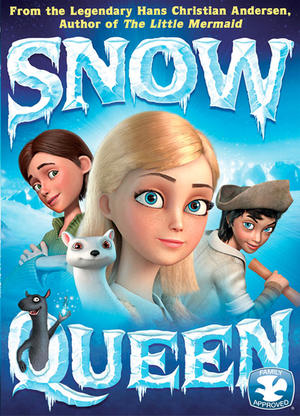 "Poster art for ""Snow Queen."""