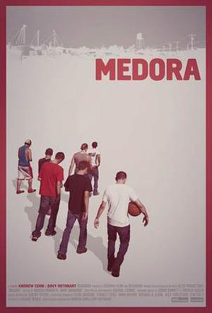 """Poster art for """"Medora."""""""