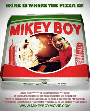 """Poster art for """"Mikeyboy."""""""