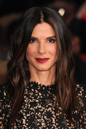 "Sandra Bullock at the premiere of ""Gravity"" during the 57th BFI London Film Festival."