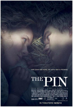 "Poster art for ""The Pin."""