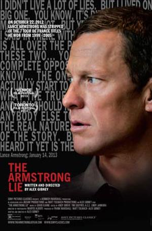 "Poster art for ""The Armstrong Lie."""