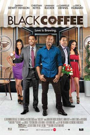 """Poster art for """"Black Coffee."""""""