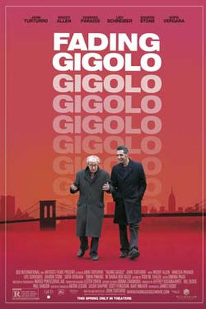 "Poster art for ""Fading Gigolo."""