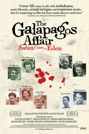 """Poster art for """"The Galapagos Affair: Satan Came to Eden"""""""
