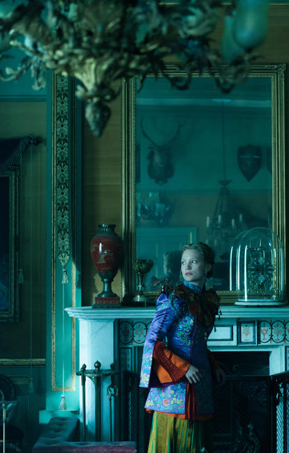 alice through the looking glass 2016 movie photos and