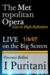 The Metropolitan Opera: Bellini – I Puritani showtimes and tickets