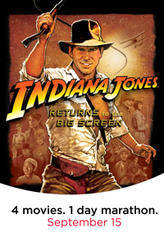 Indiana Jones AMC Marathon showtimes and tickets