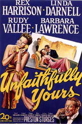 Unfaithfully Yours / Christmas in July showtimes and tickets