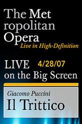 The Metropolitan Opera: Puccini – Il Trittico showtimes and tickets