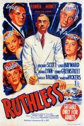 Ruthless / Edgar G. Ulmer - The Man Off-Screen showtimes and tickets