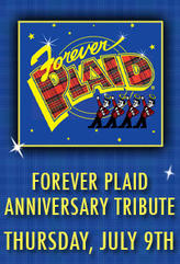 Forever Plaid Anniversary Tribute showtimes and tickets