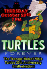 Teenage Mutant Ninja Turtles 25th Anniversary showtimes and tickets