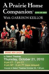 A Prairie Home Companion with Garrison Keillor showtimes and tickets