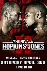 Hopkins vs. Jones Fight Live showtimes and tickets