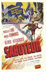 Saboteur / Rebecca showtimes and tickets
