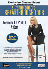 Suzanne Somers Breakthrough Tour showtimes and tickets