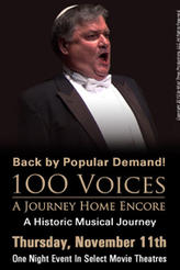 100 Voices: A Journey Home Encore showtimes and tickets