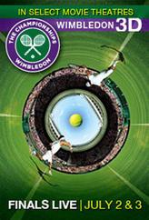 Wimbledon Live! RealD 3D showtimes and tickets