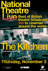 National Theatre Live: The Kitchen showtimes and tickets