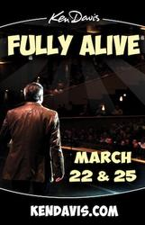 Ken Davis Fully Alive showtimes and tickets