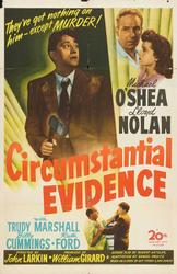 Circumstantial Evidence / The Sign Of The Ram showtimes and tickets