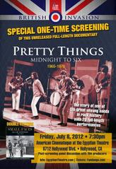 The Pretty Things: Midnight to Six /  The Small Faces showtimes and tickets