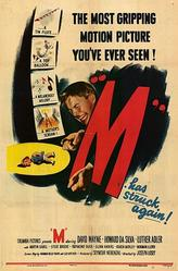 M (1951)/The Hitch-Hiker showtimes and tickets