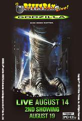 Rifftrax Live: Godzilla 2nd Showing showtimes and tickets