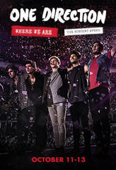One Direction: Where We Are  showtimes and tickets
