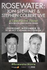 ROSEWATER: Jon Stewart & Stephen Colbert LIVE showtimes and tickets