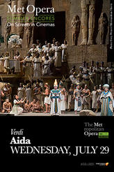 Aida Met Summer Encore showtimes and tickets
