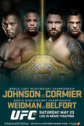 UFC 187: Johnson vs Cormier Live  showtimes and tickets