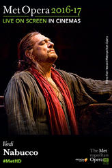 The Metropolitan Opera: Nabucco Encore showtimes and tickets