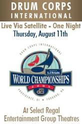 DCI 2005 World Championship Quarterfinals showtimes and tickets